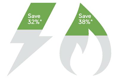 Energy Basket Infographic - Save 38%*